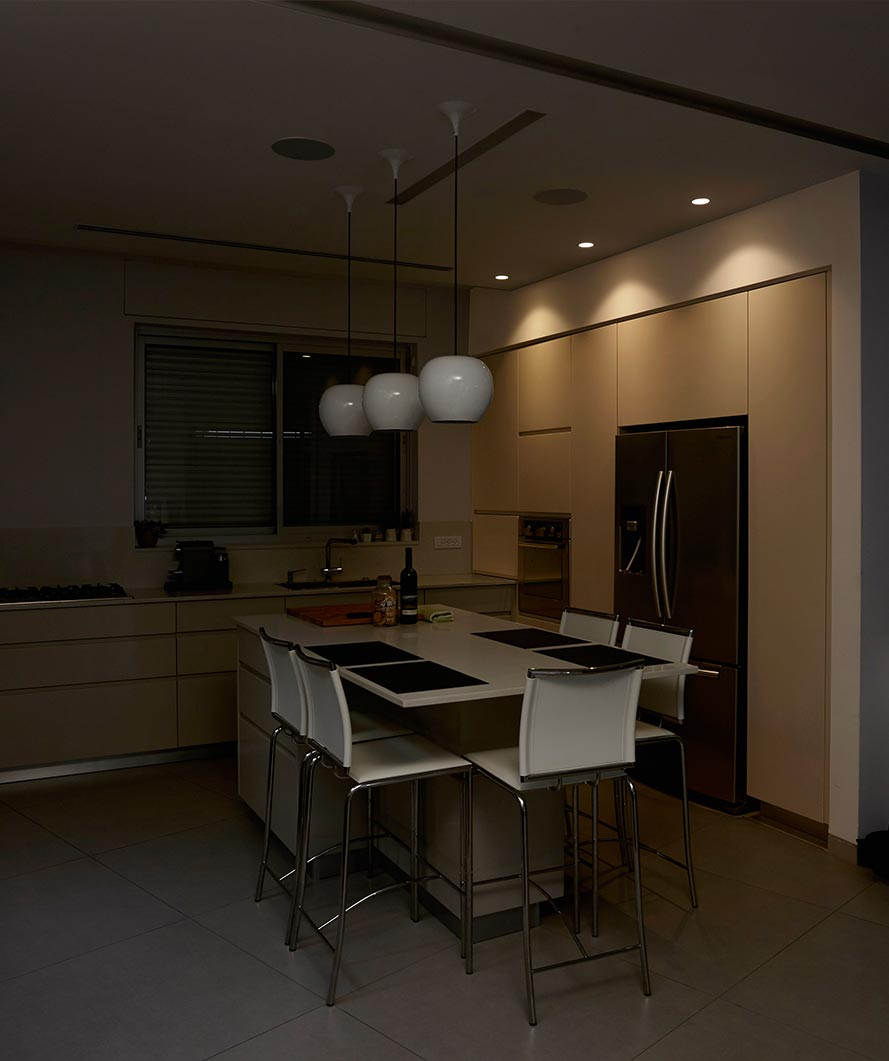 פתרונות תאורה למטבח, עיצוב מיוחד לבית